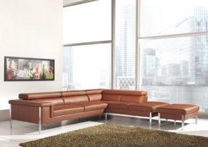 bankstellen hoekbank lounge leer